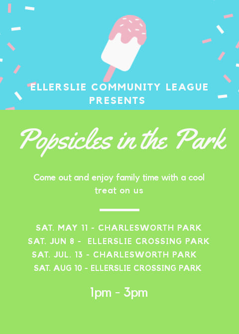 Poster for Popsicles in the Park.